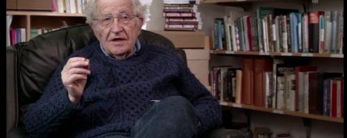 Seeblind: Warnung Noam Chomsky MIT
