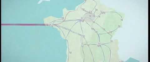 Gigantisches Netzwerk Internet