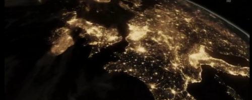 Erde bei Nacht-2min
