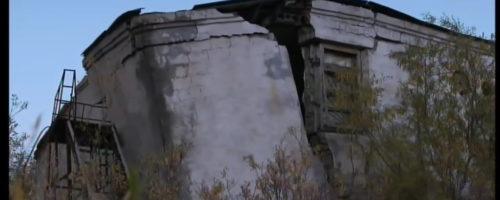 Taiga-Permafrost taut-Gefahr für Infrastruktur-2min